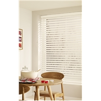 Chiffon Faux Wood Corded Blind - Arena Expressions